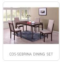 COS-SEBRINA DINING SET